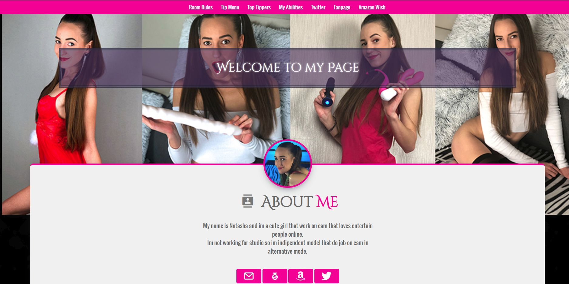 myfreecams profile pages