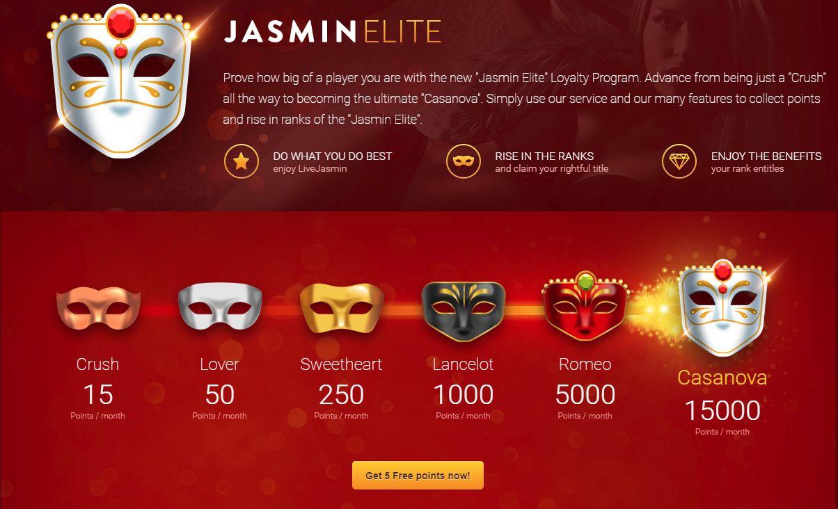 Jasmin Elite program